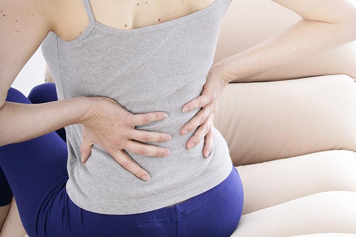 کمر درد بعد از انتقال جنین ، علل